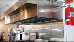Hệ thống chữa cháy cho bếp
