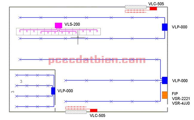 Thiết kế hệ thống cảnh báo cháy sớm VESDA